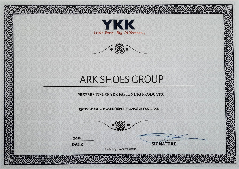 تائیدیه شرکت YKK
