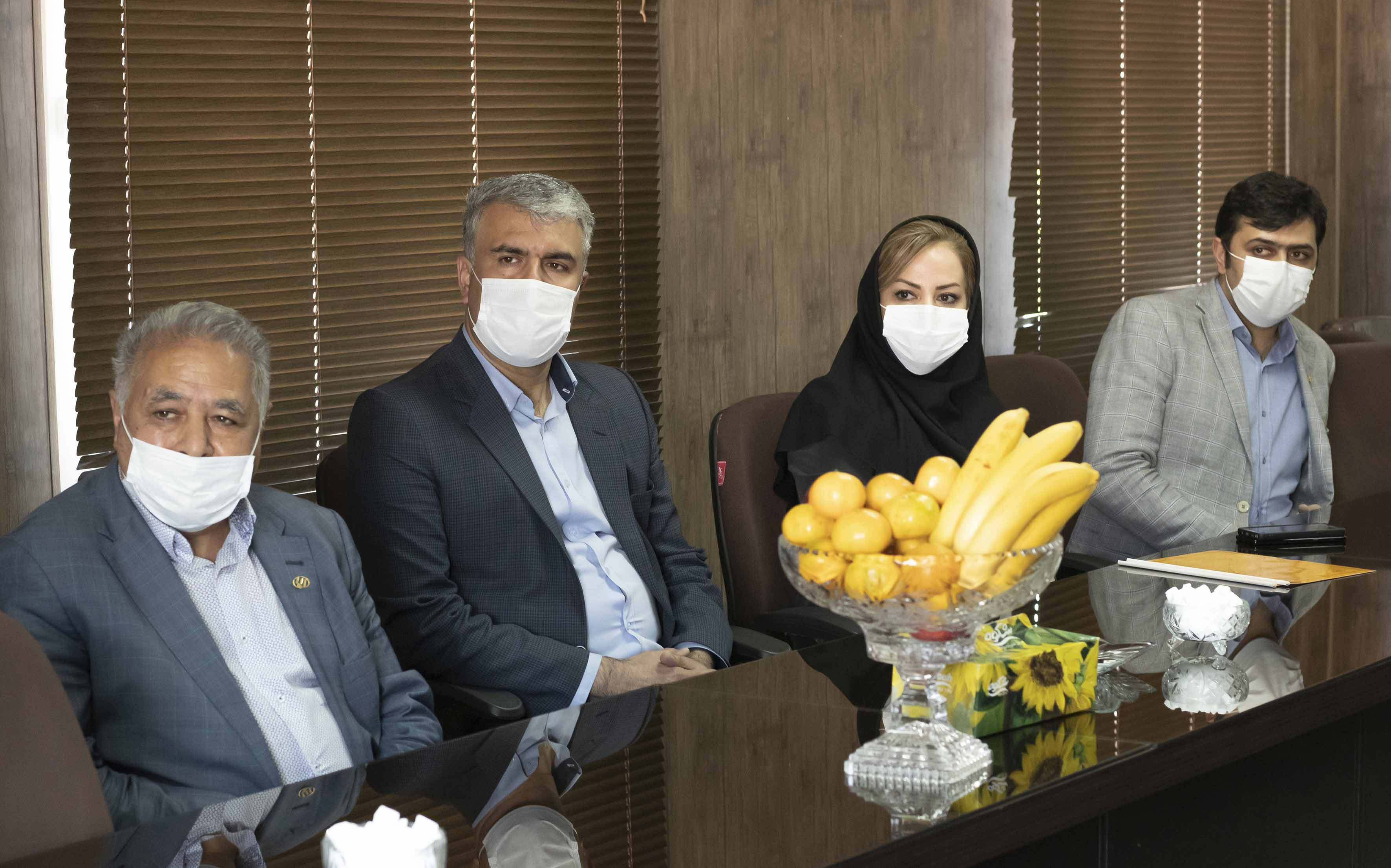 عقد تفاهم نامه همکاری شرکت صنایع ایمنی ارک با دانشکده بهداشت دانشگاه علوم پزشکی تبریز