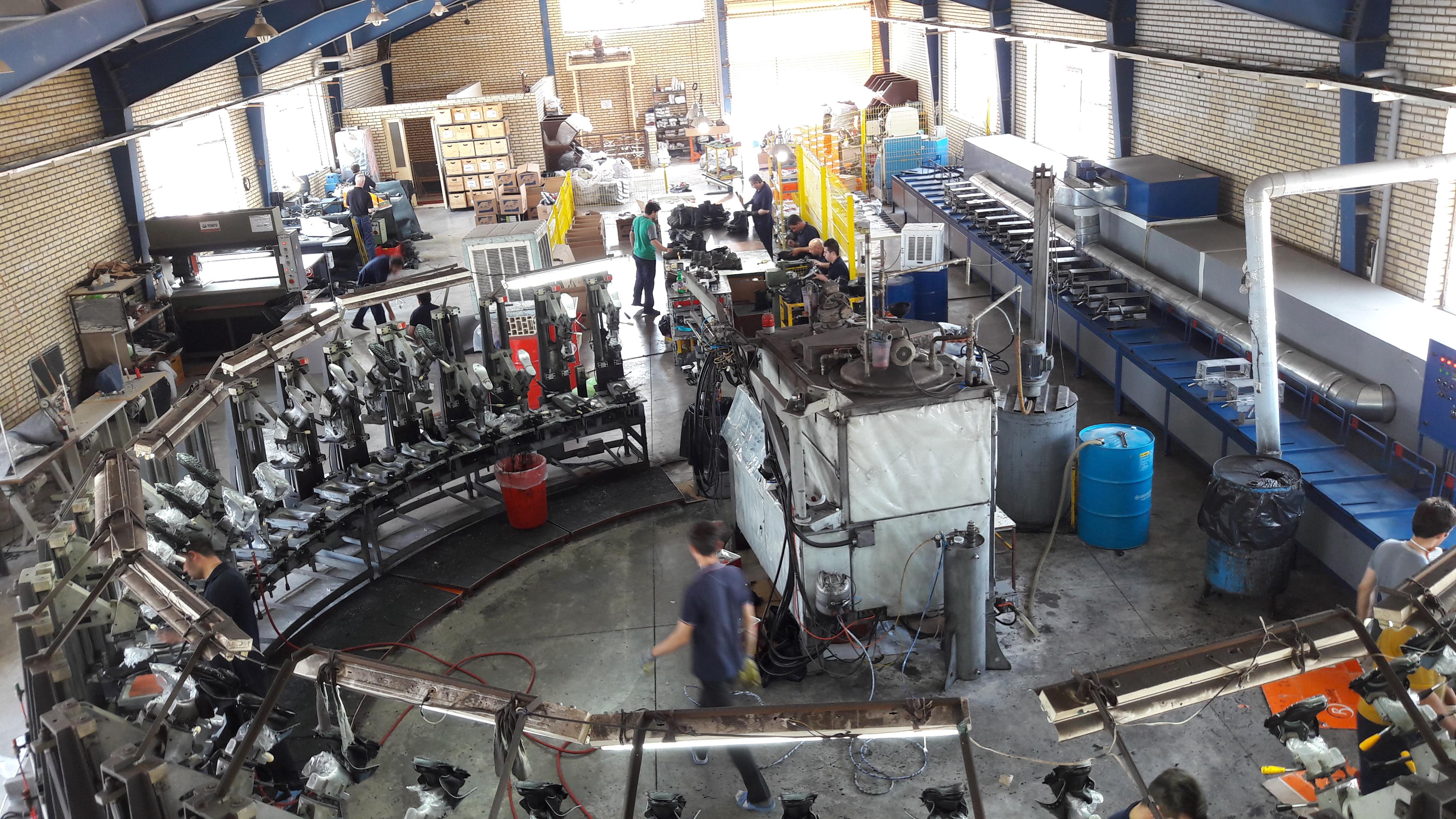 عکس هایی از محیط کارخانه