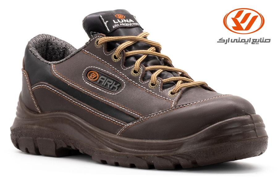 أحذية الأمان الجلدیة لونا