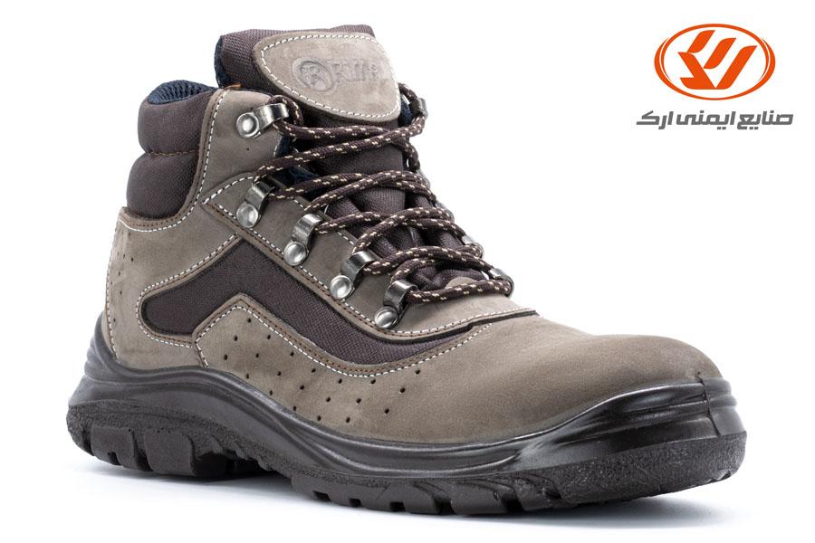 أحذية الأمان الطویلة من جلد النوبوك ریما