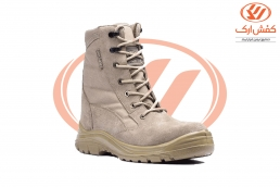 Falcon Suede Zipper Military Boots