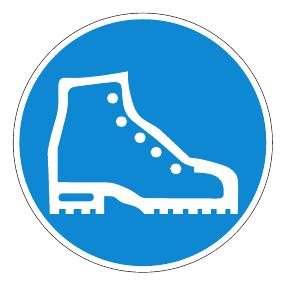 علایم تخصصی کفش های ایمنی