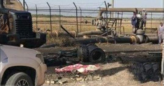 حادثه انفجار خط لوله در چشمه خوش