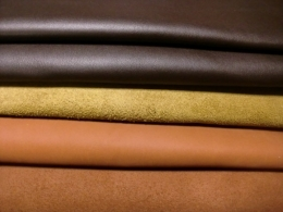 Types of leather, based on animal skin cut