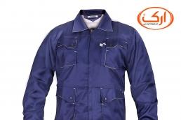 لباس کار مردانه با پارچه کجراه  سرمه ای-طوسی