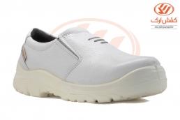 کفش ایمنی اپنکاکشی سفید