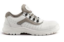 کفش ایمنی ریما چرم سفید-سفارشی
