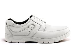 کفش اداری مارتین بند دار سفید-سفارشی